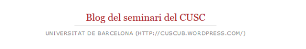 Blog del seminari