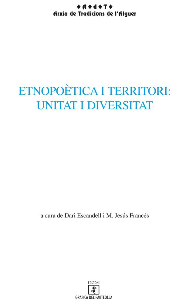 Etnopoètica i territori