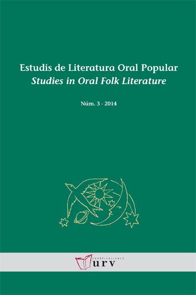Estudis de Literatura Oral Popular / Studies in Oral Folk Litera