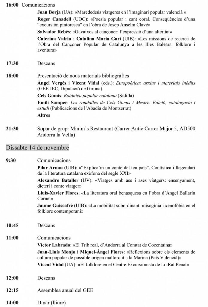 Programa provisional GEE Andorra-2