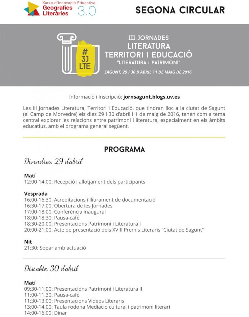 Circulars III Jornades Literatura Territori i Educació-2