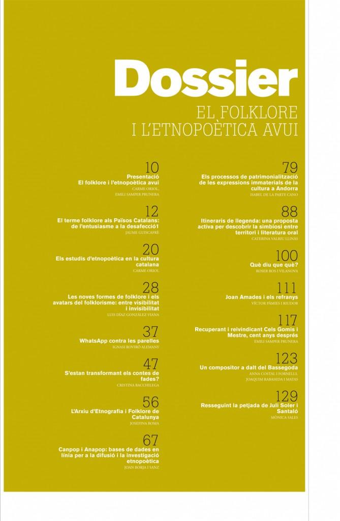 Revista d'Etonologia de Catalunya. Núm. 41