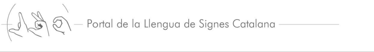 Portal de la Llengua de Signes Catalana – Institut d'Estudis Catalans