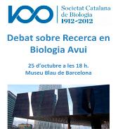 Debat Recerca en Biologia Avui
