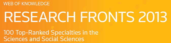 Research Fronts 2013