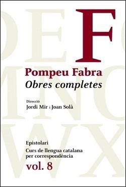 Obres Completes Pompeu Fabra