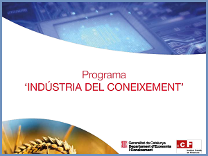 Programa Indústria Coneixement