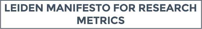 Leiden Manifesto