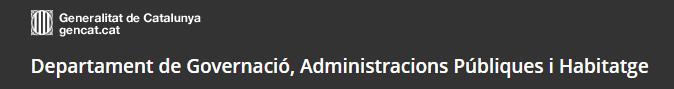 Departament Governació