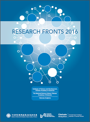 Research Fronts 2016