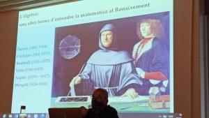 Figura 3. Joaquim Berenguer durant la seva xerrada.