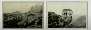 Primera imatge de muntanya amb intencionalitat de l'excursió a Sant Llorenç de Munt (Morral del Drac). L'autor va ser H. Mariezcurrena i va trigar unes dues hores a fer-la.