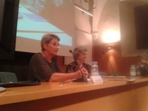 Imma Bordas va conduir l´emotiu acte de reconeixement a la trajectòria professional de Núria  Borrell