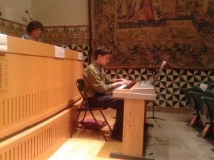 Daniel González,alumne de piano del Centre d´Estudis Musicals Haro