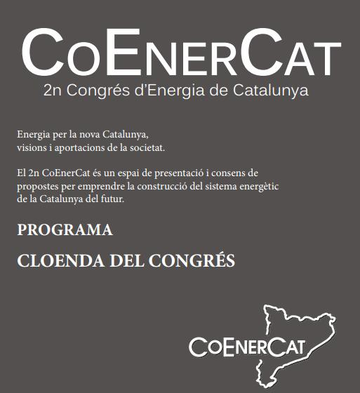 Cloenda 2n Congres Energia a Catalunya